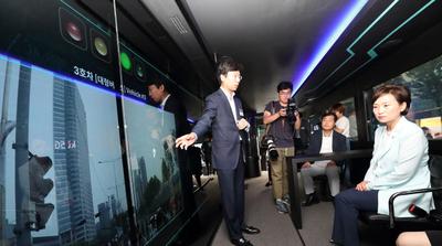KT, 자율주행차 국민체감 행사 참여...'협력 자율주행' 기술 선보여