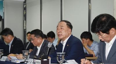 """홍 부총리 """"하반기 16조 5000억원 SOC 신속 집행"""""""
